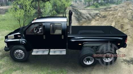 GMC C4500 TopKick 6x6 для Spin Tires