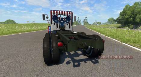 AM General M35A2 Racing для BeamNG Drive