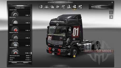 Открытые аксессуары для Euro Truck Simulator 2