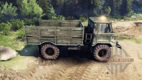 ГАЗ-66 v1.3 для Spin Tires