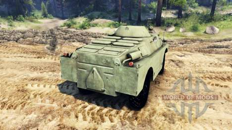 БРДМ-2 для Spin Tires