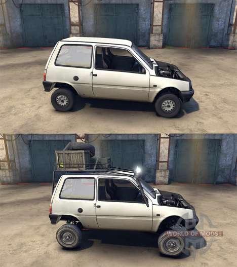ВАЗ-1111 Ока для Spin Tires