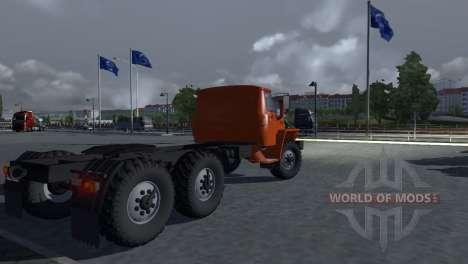 Урал 43202 для Euro Truck Simulator 2