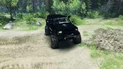 Jeep Cherokee XJ v1.1 Rough Country black