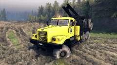 КрАЗ-255Б в жёлтом окрасе -КрАЗ 88-