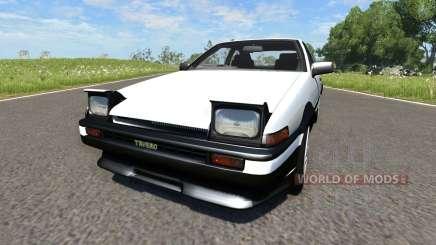 Toyota AE86 Sprinter Trueno для BeamNG Drive