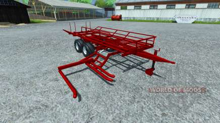 Подборщик  круглых тюков для Farming Simulator 2013