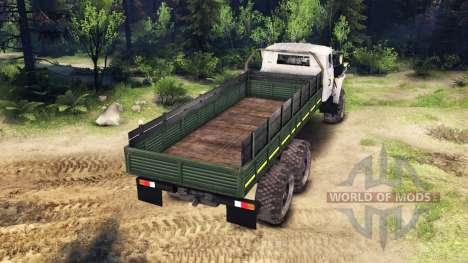 Урал-4320-0911-30 v2.0 для Spin Tires