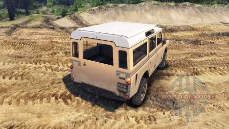 Land Rover Defender Sand для Spin Tires