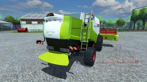 CLAAS Lexion 550 v1.5 для Farming Simulator 2013