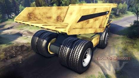 Карьерный самосвал [Обновлён] для Spin Tires