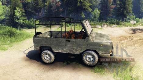 ЛуАЗ-968М для Spin Tires