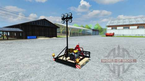 Фонарь для Farming Simulator 2013