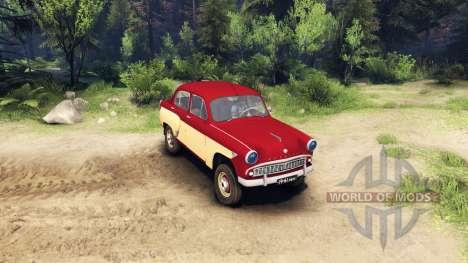 Москвич-407 для Spin Tires