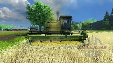 Дон-1500Б для Farming Simulator 2013