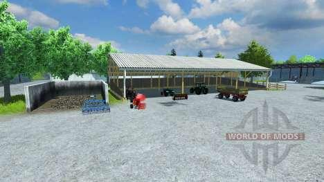 Реконструкция фермы v9 для Farming Simulator 2013