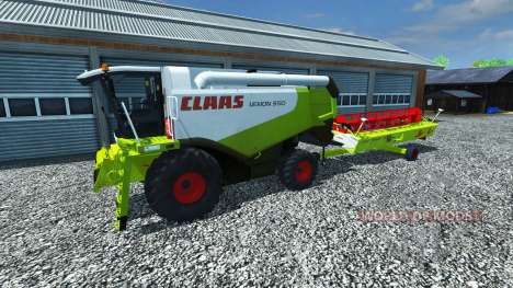 CLAAS Lexion 550 v1.5 для Farming Simulator 2013