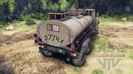 КрАЗ-260 и КрАЗ-63221 (СКВО ВВ) для Spin Tires
