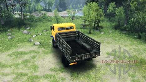 Новый окрас для ГАЗ-66 для Spin Tires