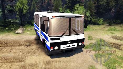 ПАЗ-3205 для Spin Tires