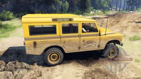 Land Rover Defender Camel Trophy для Spin Tires