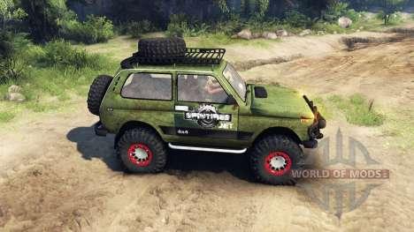 ВАЗ-2121 Нива для Spin Tires