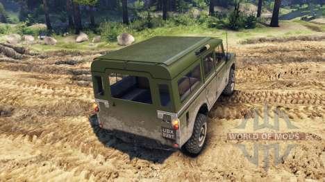 Land Rover Defender Olive для Spin Tires