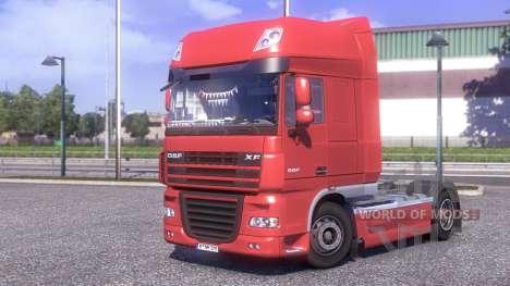 DAF XF 105.510 Jelle Schouwstra для Euro Truck Simulator 2