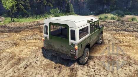 Land Rover Defender Green для Spin Tires
