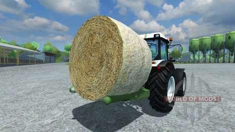 Music-Menges Bale Lifter для Farming Simulator 2013