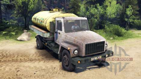 ГАЗ-3309 v1.1 для Spin Tires