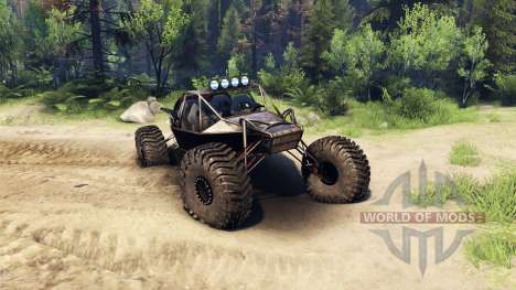 The Raakry v1.1 rusty для Spin Tires