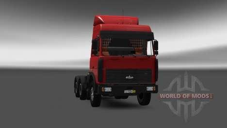 МАЗ 5432 v4.0 для Euro Truck Simulator 2