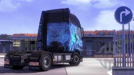 Volvo FH13 Tandem для Euro Truck Simulator 2