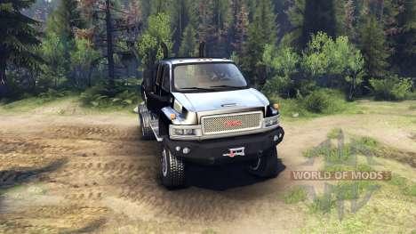 GMC C4500 TopKick 6x6 v1.2 для Spin Tires