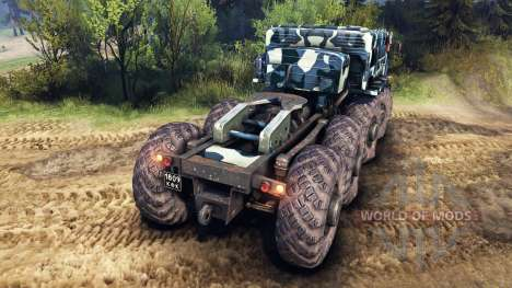 МАЗ-535 camo v3 для Spin Tires