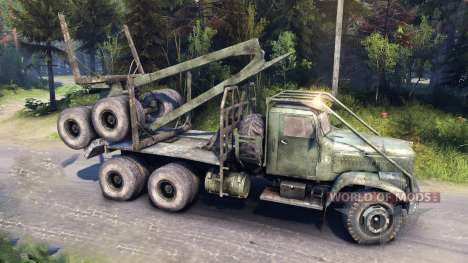 КрАЗ-255 дорожный для Spin Tires