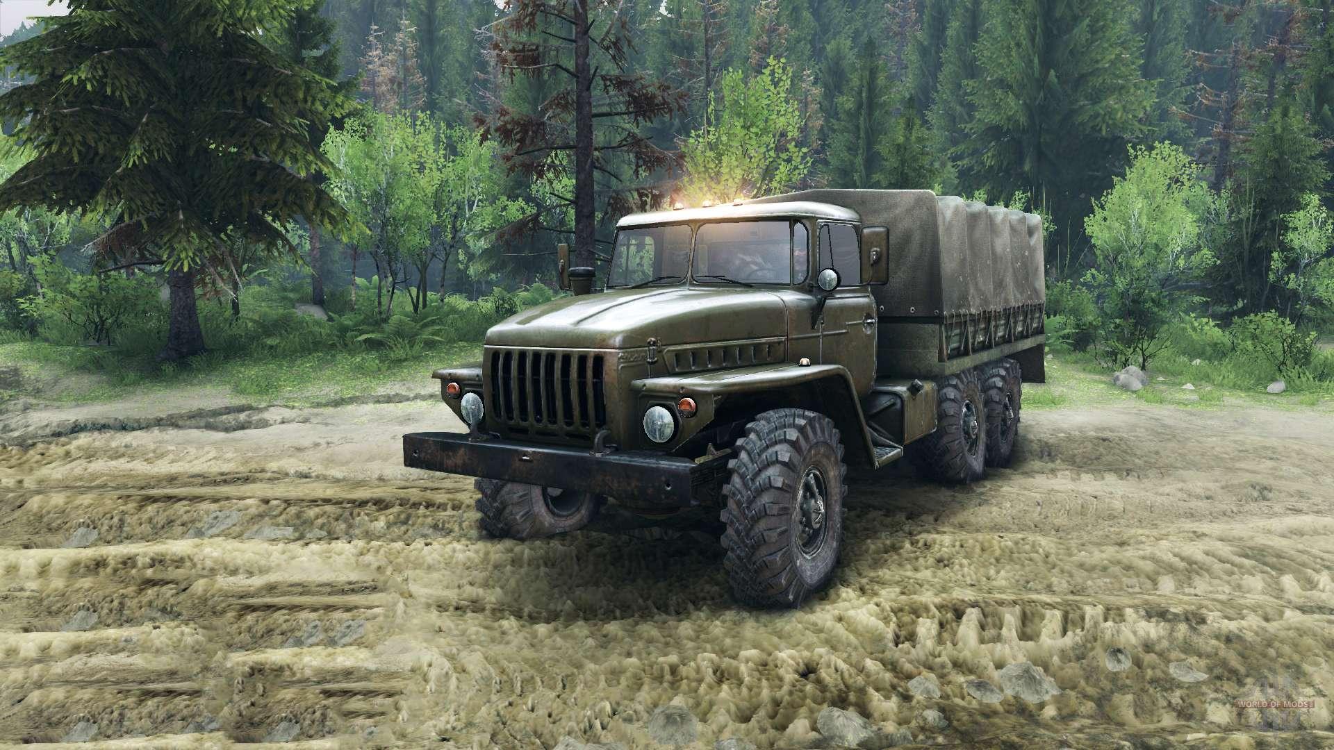 Урал грузовик обои на рабочий стол