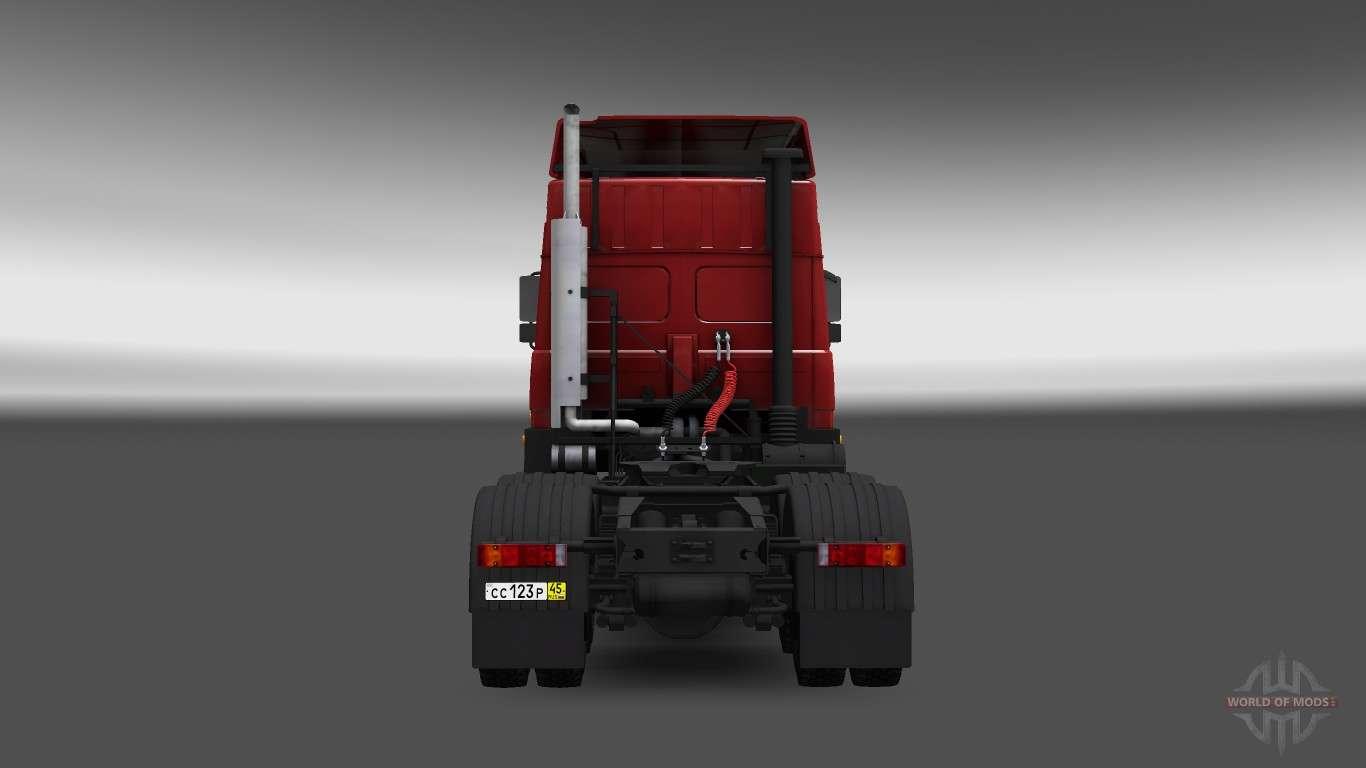 Маз 5432 v4 0 для euro truck simulator 2