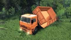 Новые кузова для КамАЗ-6520