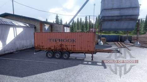 Новый окрас контейнерных грузов vol.1 для Euro Truck Simulator 2
