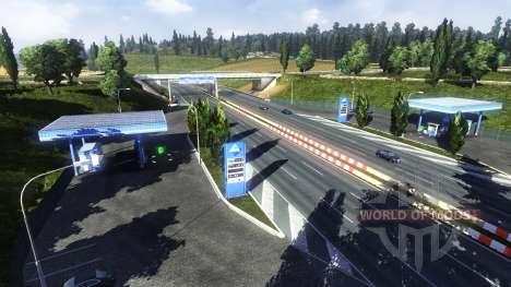 АЗС Aral для Euro Truck Simulator 2