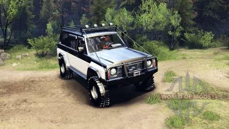 Nissan Patrol Y60 для Spin Tires