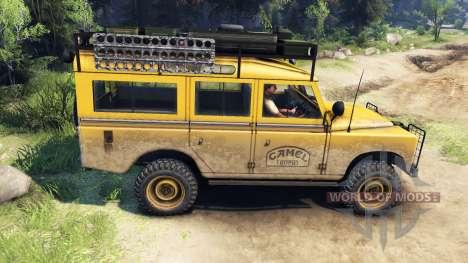Land Rover Defender Series III v2.2 Camel Trophy для Spin Tires