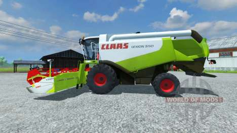 CLAAS Lexion 550 v2.5 для Farming Simulator 2013