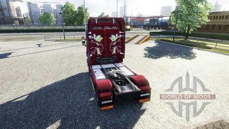 Окрас -Fratelli Liotti- на тягач Scania для Euro Truck Simulator 2