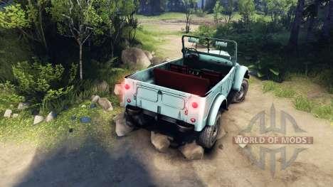 ГАЗ-69А Козлик для Spin Tires
