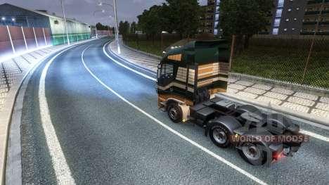 Ксенон v4 для Euro Truck Simulator 2