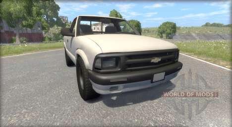 Chevrolet S-10 Draggin 1996 для BeamNG Drive