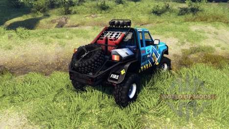 Nissan Patrol GQ для Spin Tires